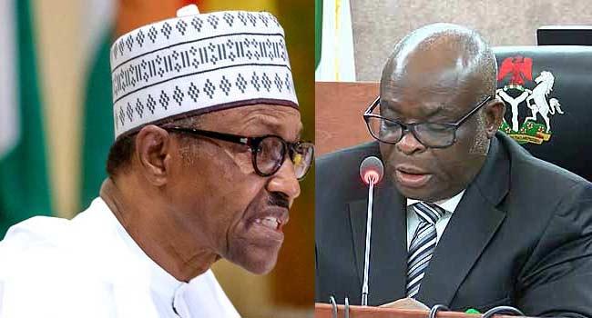 President Buhari and CJN Onnoghen